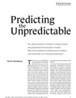 predicting the unbredictable_bonabeau